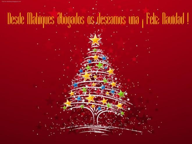 Feliz Navidad Mahiques Abogados